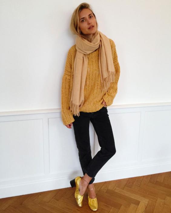 Custommadeknit&scarf.Lookdepernille.com.13jan2016